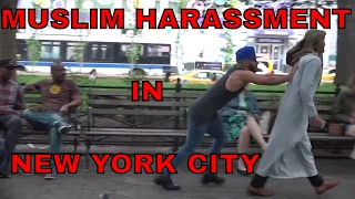 getlinkyoutube.com-Muslim Harassment IN NEW YORK SOCIAL EXPERIMENT!