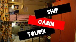 getlinkyoutube.com-What do the crew cabins look like!? (On cruise ships)
