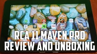 RCA Maven Pro Tablet Review 2016