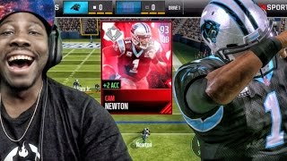93 TROPHY MONSTER CAM NEWTON DEBUT! Madden Mobile 17 Gameplay Ep. 5