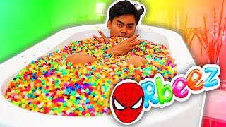 getlinkyoutube.com-ORBEEZ BATH CHALLENGE!