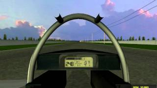 getlinkyoutube.com-(rFactor) THRUST SSC Top Speed 2777 km/h