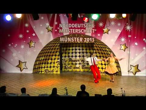 Verena Rochow-Klohn & Christoph Klohn - Norddeutsche Meisterschaft 2013