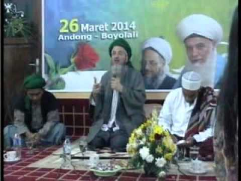 Syaikh Gibril Fouad Hadad at Boyolali Central Java Indonesia PART 1