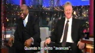 getlinkyoutube.com-Magic Johnson & Larry Bird ospiti al Late Show di Letterman sub ita, parte uno
