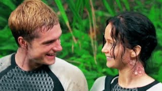 getlinkyoutube.com-Jennifer and Josh from Catching Fire BTS