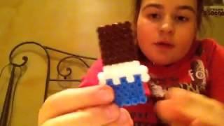 getlinkyoutube.com-Le mie creazioni in pyssla/hama beads ( il mio primo video).