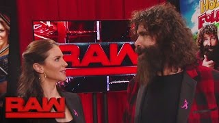 Mick Foley proposes a huge match for next week: Raw, Oct. 17, 2016