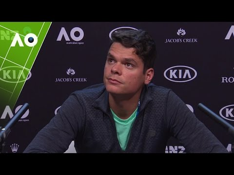 Milos Raonic Pre-Tournament Press Conference | Australian Open 2017