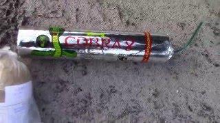 Cobra 8 (Di Blasio Elio) vs 3'' Salute (Klasek) 5 December-knallers..vuurwerk/fireworks