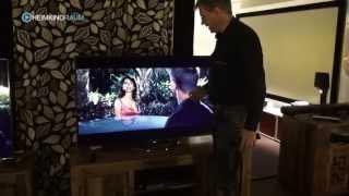 getlinkyoutube.com-Sony KDL55W905 Triluminos vs Samsung F8000