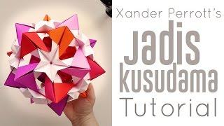 getlinkyoutube.com-Origami Jadis Kusudama Tutorial