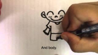 getlinkyoutube.com-สอนวาดรูปการ์ตูนเเบบง่ายๆ