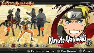 getlinkyoutube.com-(Personajes ocultos 2015) Naruto Ultimate Ninja Impact/ppsspp Gold/android