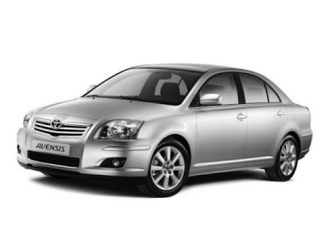 Замена лобового стекла на Toyota Avensis в Казани.