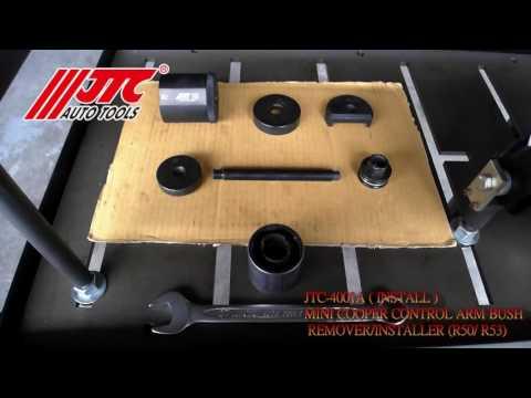 JTC 4001A Комплект для снятия и установки сайлентблоков рулевой тяги Mini Cooper R50,R53