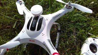 getlinkyoutube.com-Cheerson CX 20 Quadcopter Test Flight Camera Footage - Amkov 5000s Camera