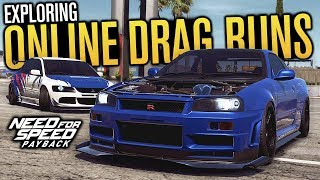 DRAG RUNS & EXPLORING FREEROAM! | Need for Speed Payback Multiplayer
