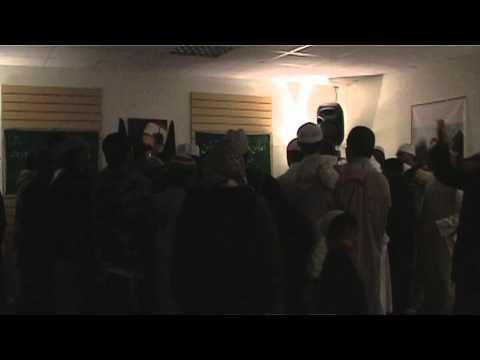 Holy Chaadar from Darbar e Ghousia Baghdad Shareef - Bradford 2010