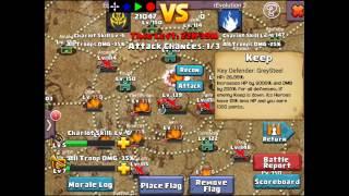 getlinkyoutube.com-Clash of Lords 2 - Guild Clash Equilibrium/rEvolution 2