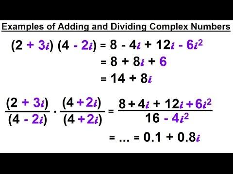 Calculus 2: Complex Numbers & Functions (5 of 28) Multiplying and Dividing Complex Numbers: Ex.