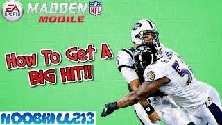 getlinkyoutube.com-Madden Mobile 16 How To Get A BIG HIT!!