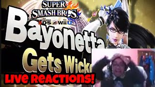 getlinkyoutube.com-LIVE FACECAM REACTION TO BAYONETTA IN SMASH!