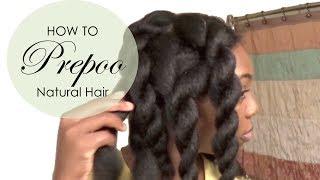 getlinkyoutube.com-How to Pre-Poo Natural Hair