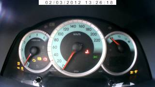 getlinkyoutube.com-Toyota Corolla Verso 2005 D4D 2.0 Diesel Cold Start -17C
