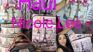 getlinkyoutube.com-Haul Bolsas Nicole Lee