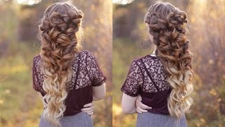 getlinkyoutube.com-Goddess Braid  | Wedding Hair