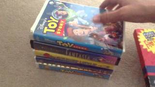 getlinkyoutube.com-My VHS Collection! (UPDATED)