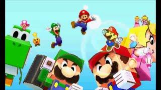 getlinkyoutube.com-Mario & Luigi: Paper Jam - Ending & Credits