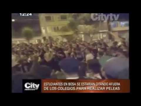 CityNoticias: Estudiantes en Bosa se estarían citando para peleas callejeras