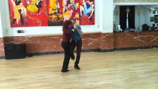 Monday Night Argentine Tango Ladies Part