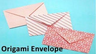 getlinkyoutube.com-How to make an Origami Envelope