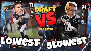 getlinkyoutube.com-SLOWEST vs LOWEST PLAYERS DRAFT!! Hilarious Madden 17 Draft Champions