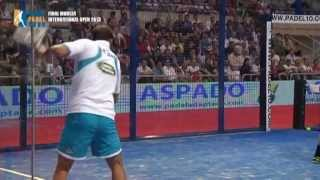 getlinkyoutube.com-Best Rallies and Spectacular Points, Final Padel Tournament WPT Murcia 2013