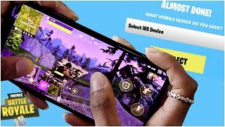 Mobile Fortnite - HOW TO DOWNLOAD - iOS & Android Download Code Sign Up