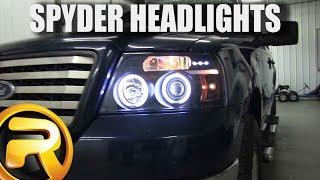 getlinkyoutube.com-How to Install Spyder Projector Headlights