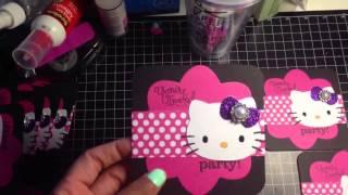 getlinkyoutube.com-Full Video of Hello Kitty Birthday Invitations for Cortlyn