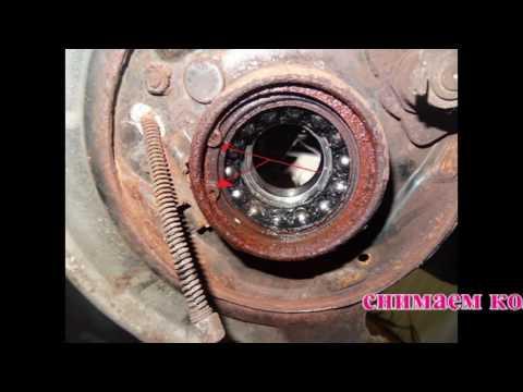 Honda CR-V 2 Замена ступичного подшипника без пресса. Honda CR-V Wheel Hub Bearing Replacement