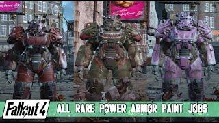 getlinkyoutube.com-Fallout 4 - Rare Power Armor Paint Jobs [tutorial and showcase]
