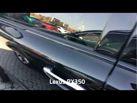 Резиновые коврики для Lexus RX350 от ТМ Stingray - обзор, отзывы.