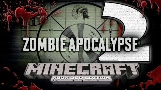"getlinkyoutube.com-Minecraft Xbox 360: ""Zombie Apocalypse 2"" map w/Download!"