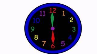 getlinkyoutube.com-Cantece pentru copii | Ceasul