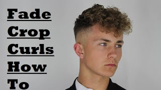 Skin Fade Disconnected Curls   - Kieron The Barber -