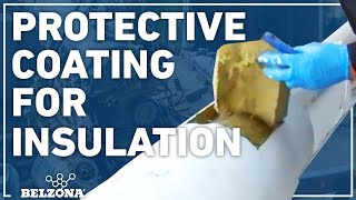 Insulation coating demonstration with Belzona 3211