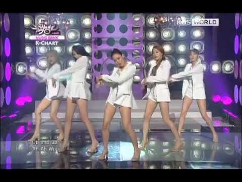 [Music Bank K-Chart] KARA - Pandora (2012.08.24)