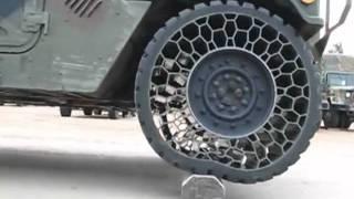 getlinkyoutube.com-Cool new army tire technology